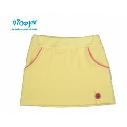 Nicol Kojenecká sukně Lady - žlutá