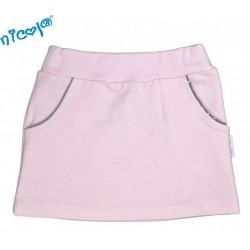 Kojenecká sukně Nicol, Paula - růžová