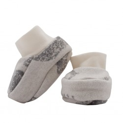 Zimní kojenecké capáčky Baby Service Sloni šedé