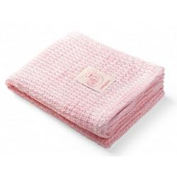 BabyOno Dětská bambusová deka 75 x 100 cm - růžová