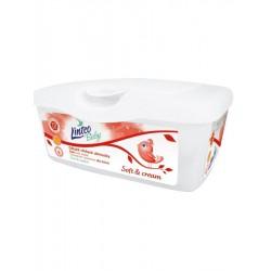 Vlhčené ubrousky Linteo Baby 72 ks Soft and cream BOX