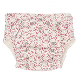 Mamatti Látková plenka EKO sada - kalhotky + 2 x plenka, vel. 3 - 8 kg, Rozeta