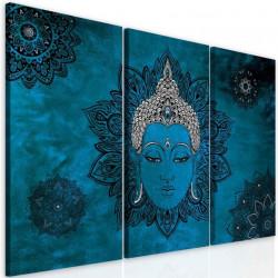 InSmile Obraz mandala modrý Buddha