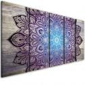 InSmile Obraz mandala na dřevě V