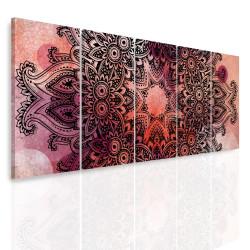 InSmile Vícedílný obraz - Mandala na akvarelu III. 150x60