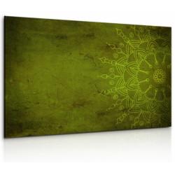 InSmile Obraz Kamenná zelená mandala