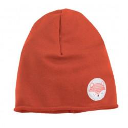 EEVI Dětská jarní/podzimní bavlněná čepice - Adventure Liška - cihlová