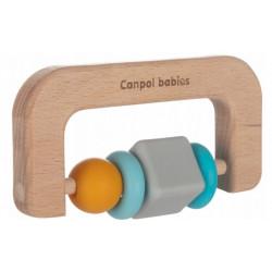 Canpol babies Dřevěné kousátko pilka- přírodní