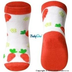 Baby Ono Bavlněné protiskluzové ponožky