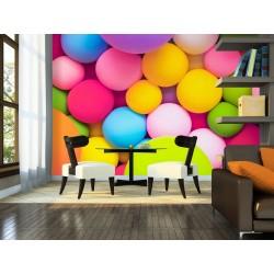 Murando DeLuxe Tapeta barevné míčky 37423