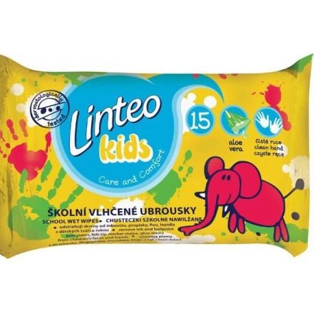Vlhčené ubrousky Linteo Baby Kids 15 ks